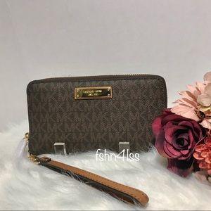 Michael Kors Large Flat Wallet/Wristlet